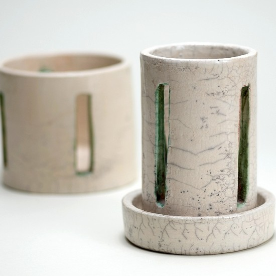 naomipeli-ceramics-raku-plant-holder-green-zen-2014