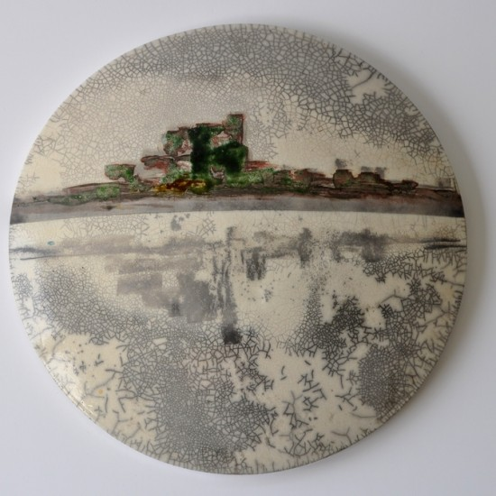 naomipeli-ceramics-reflection-wall-art-painting-2015-1