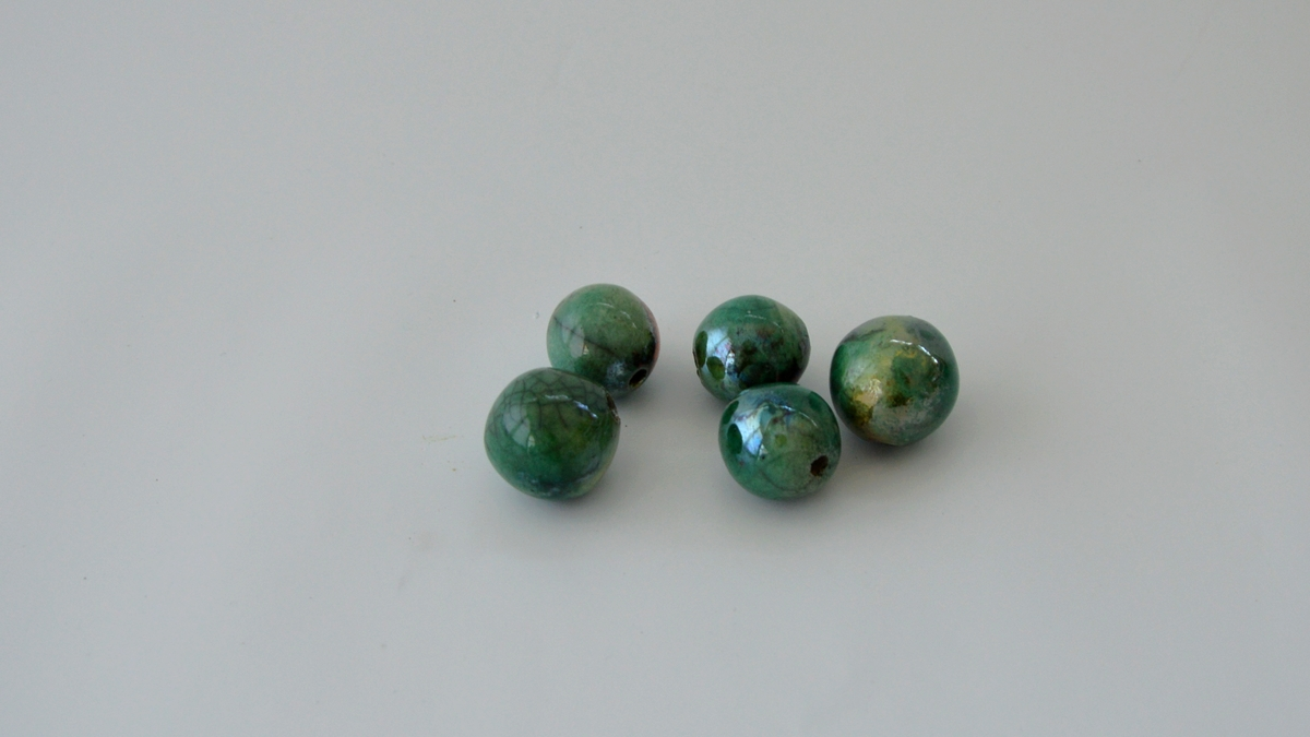 RAKU BEADS for colorful ceramik jewelries, NAOMIPELI ceramics